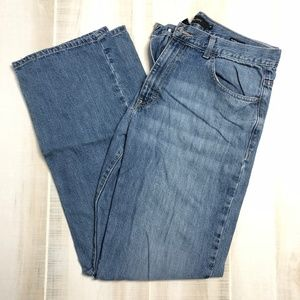 Calvin Klein Relaxed Straight Cut Jeans Size 36
